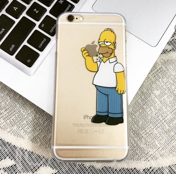 coque homer simpson iphone 8
