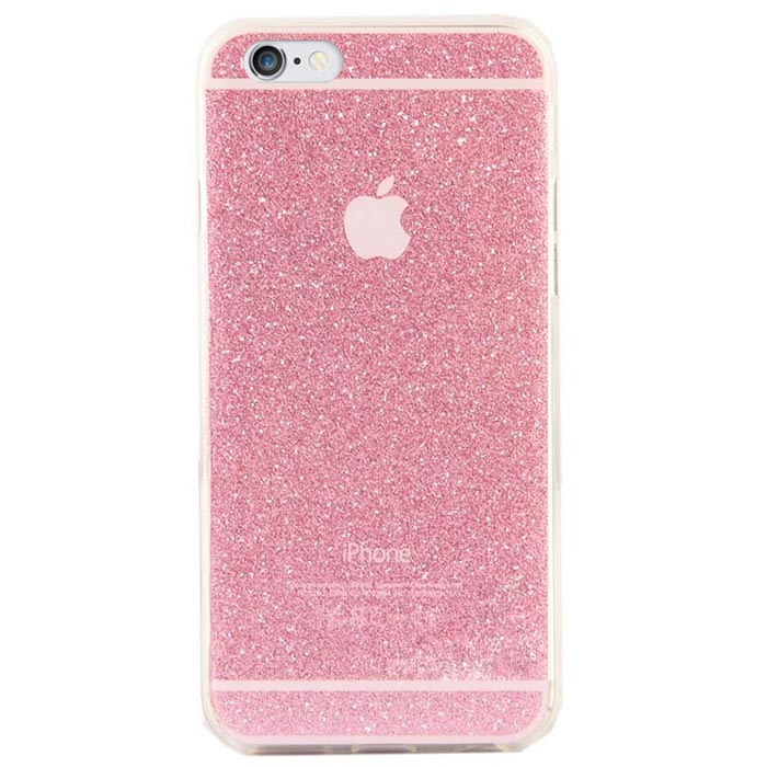 coque iphone 6 transparente paillette